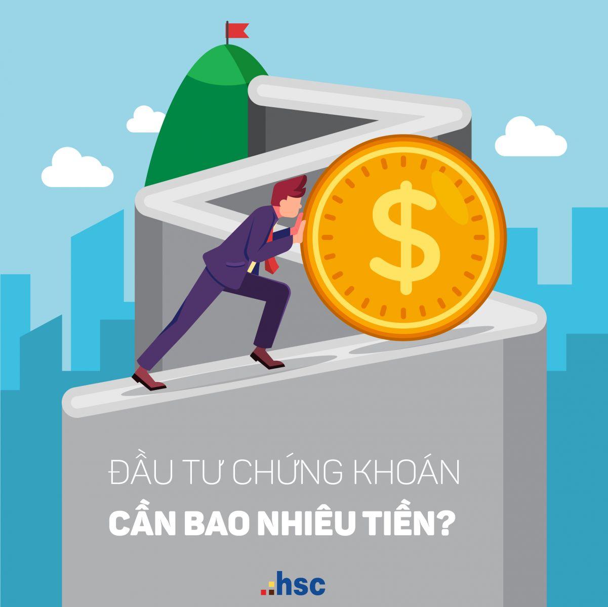 đầu tư chứng khoán cần bao nhiêu tiền
